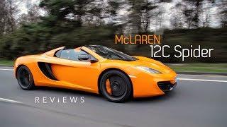 McLaren 12C Spider 2013 Videos