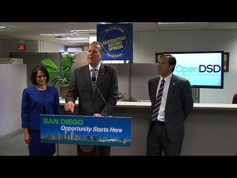 "Mayor Faulconer Announces New ""OpenDSD"" Website"