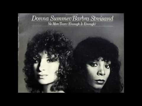Donna Summer & Barbra Streisand - No More Tears (original vinyl version) with LYRICS