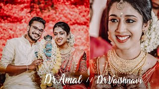 Dr.Amal & Dr.Vaishnavi  |Kerala Hindu Traditional Wedding Stories