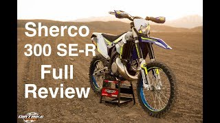 2017 Sherco 300 SE-R Real World Full Review | Episode 307