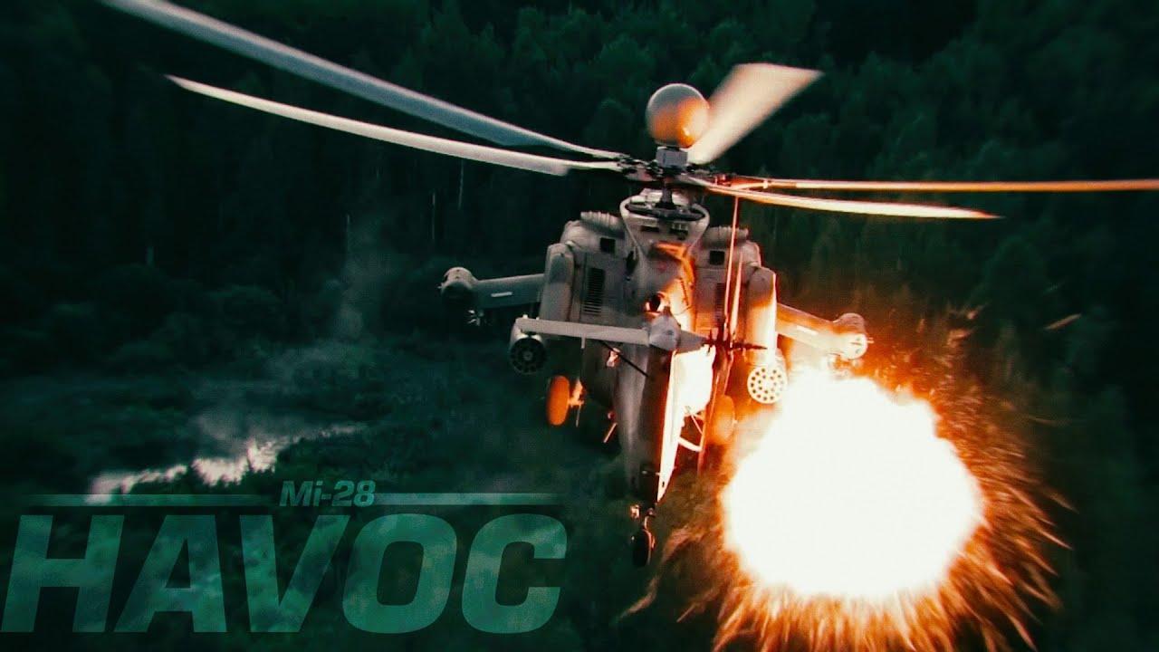 Mi-28 Havoc in Action - Ми-28Н