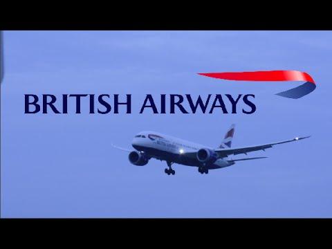 British Airways First 787 First Flight to BWI!!