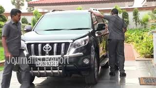 Gambar cover AP CM Jagan Mohan Reddy, KCR New Convoy in Amaravati