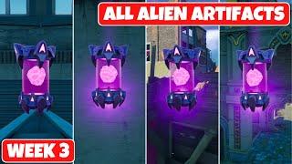 Fortnite All Alien Artifacts Locations Guide (Week 3)