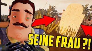 VOLLVERSION ! Seine FRAU ist TOT ?! | Hello Neighbour | [Deutsch/German]