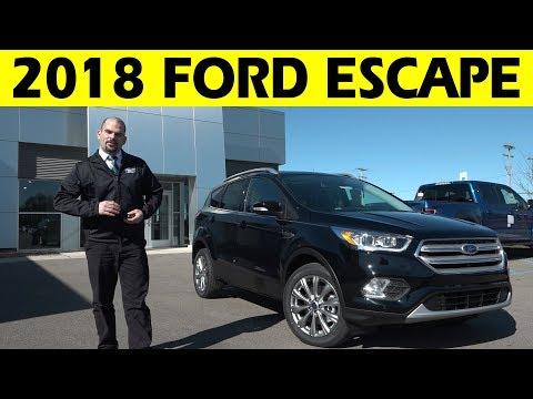 2018 Ford Escape Exterior & Interior Walkaround