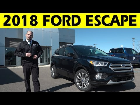 2018 Ford Escape Exterior & Interior Walkaround
