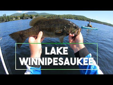 Lake Winnipesaukee, New Hampshire - Fishing From Kayaks