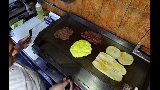 New York City Street Food | ULTIMATE Bronx Bodega food | Chopped cheese MONSTER Sandwiches
