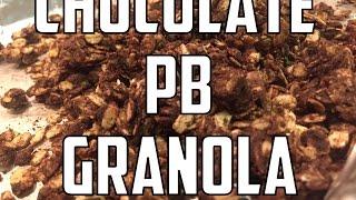 Chocolate Peanut Butter Granola (easy) | Eriktheelectric