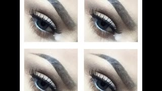 HOW TO FILL IN YOUR EYEBROWS (GEL AND PRESSED POWDER) Thumbnail
