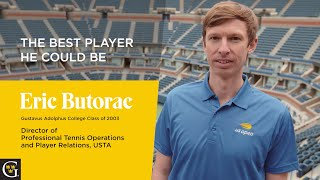 Eric Butorac '03: Live with purpose. Make your life count.