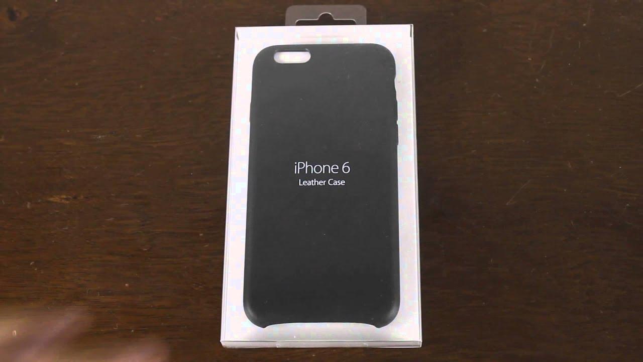 Unboxing funda apple de piel iphone 6 youtube - Funda de piel para iphone 5 ...