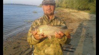 Рыбалка на Цимлянском водохранилище 02 04 сентября 2017г