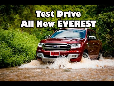 FORD NEW EVEREST,  Test Drive in Chiang Rai Thailand