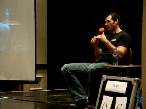 Dan Payne talk Hockey, Wolf Stargate Worlds, January 2010, Thistle Hotel, London