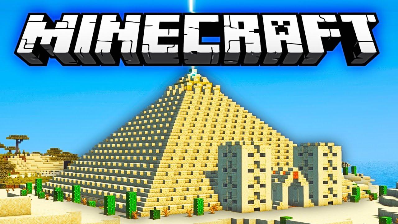 Minecraft Pyramid #Shorts