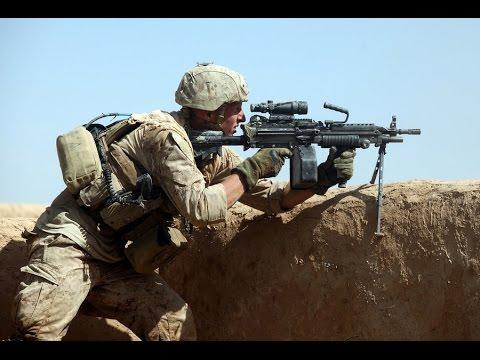 US Marines With Bravo Company During Integrated Training / Twentynine Palms California