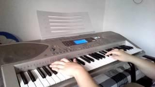 Statue Lil eddie piano cover