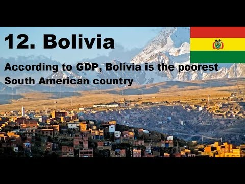 The Poorest And Richest South American Countries Today