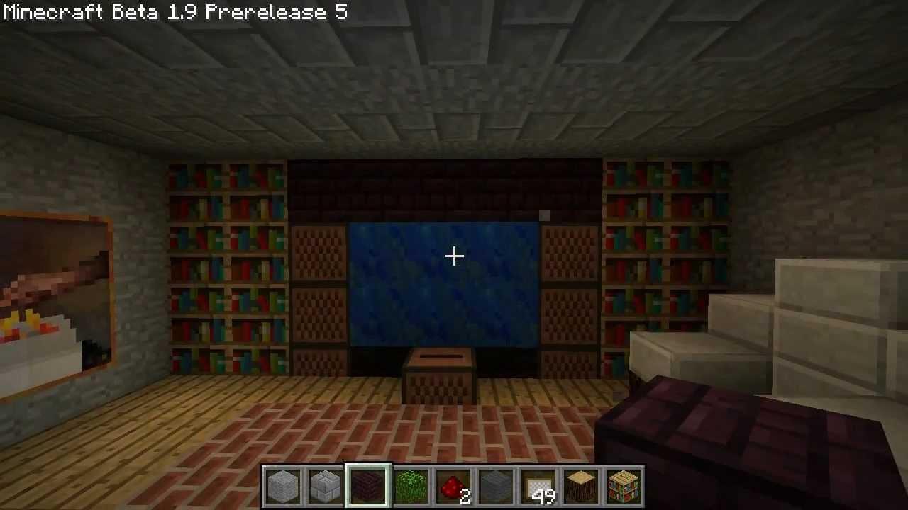 Minecraft Living Room Tutorial