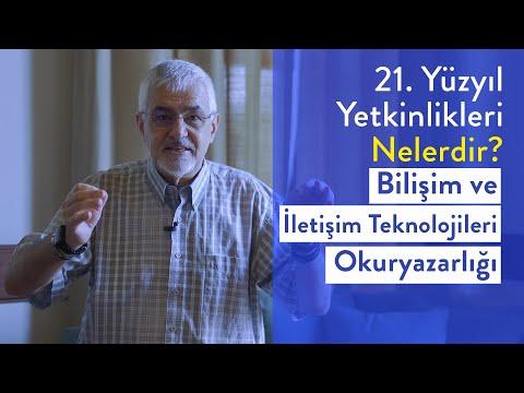 Prof. Dr. Erhan Erkut / 21. Yüzyıl Yetkinlikleri -  Bilişim ve iletişim Teknolojileri Okuryazarlığı