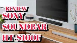 REVIEW SONY SOUNDBAR HT-S100F