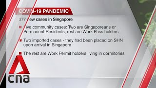 COVID-19 update, July 24: Singapore reports 277 new cases