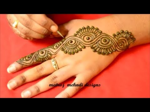 Latest Easy Mehndi Designs For Hands Simple New Henna Designs 2018