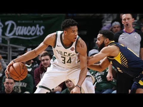 NBA Milwaukee Bucks vs Indiana Pacers Full Game Highlights  Jan 8 2018