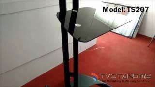 Full Review   Portable Elegant Aluminum LCD VESA Desk Mounts Upto 32''-60'' - TS207-BLK