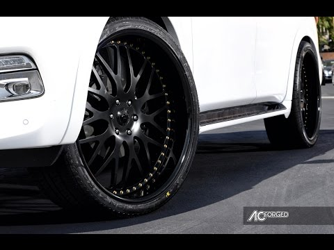 Infiniti Qx 80 2015 On 26 Quot Ac Forged Wheels Youtube