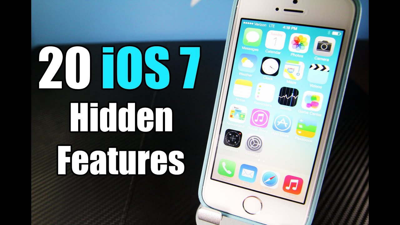 20 Hidden Features In IOS 7