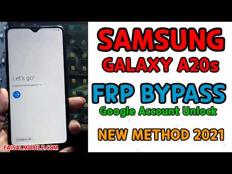 Samsung A20s Frp Bypass Google Account Unlock || No Sim || Only With One Apk File 2021