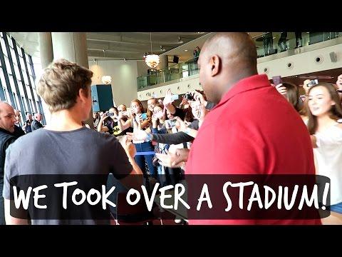 WE TOOK OVER THE EMIRATES STADIUM!