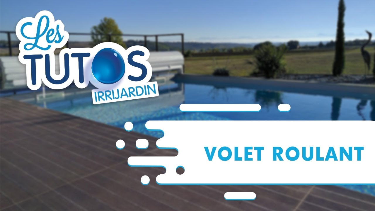 Comment installer un volet roulant pour piscine youtube for Installer un volet roulant