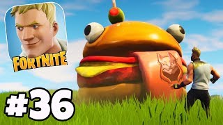 AUTO SHOOT!? WTF IS THIS?! Season 5 Mobile Update - Fortnite IOS/Android Gameplay #36