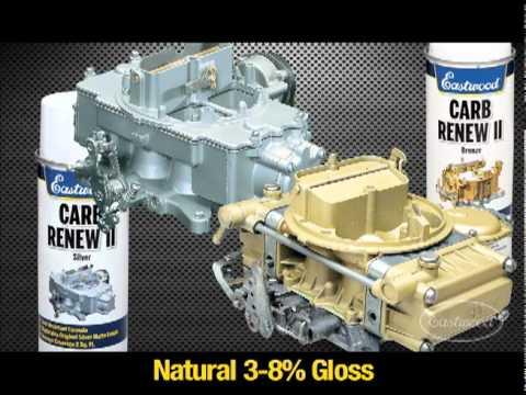 Carb Renew Acrylic Enamel Paint By Eastwood Youtube