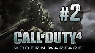 Call of Duty 4 Modern Warfare Walkthrough/Gameplay Part 2 - ACT I - Charlie Don