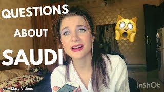 American friends ask questions about Saudi 📱