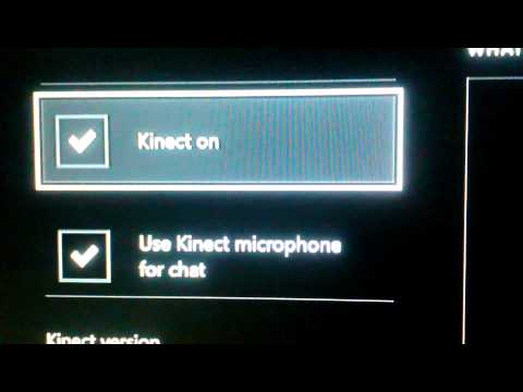 How To Turn Kinect Or Kinect Chat Off On Xbox One