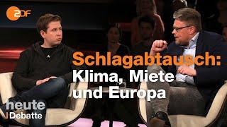 SPD vs. AfD! Heftiger Zank zwischen Kühnert und Reil bei Lanz