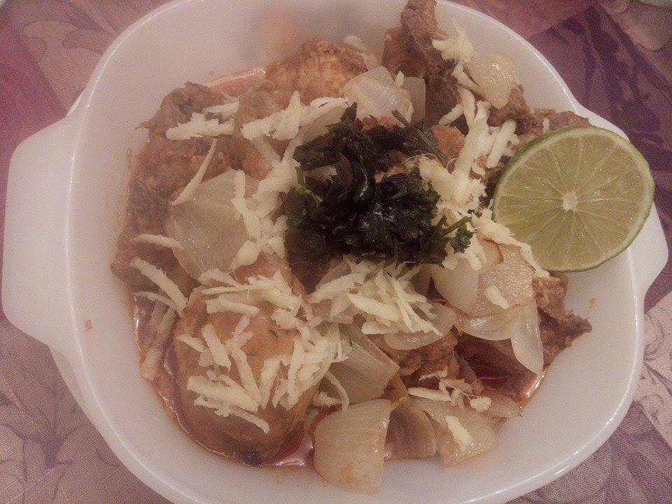 Chicken do pyaza recipe in english