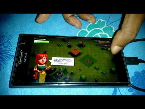 Playing CoC in Windows phone
