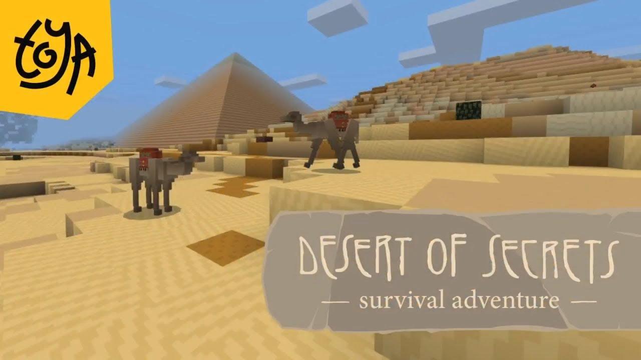 Minecraft Egypt Map.Ancient Egypt Minecraft Map Toya Desert Of Secrets Youtube