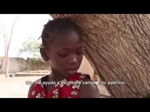 Plan International - Conoce a Ndoumbe, una niña apadrinada de Senegal on YouTube