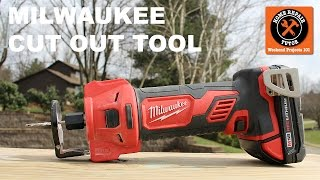 Milwaukee M18 Cut Out Tool (Two Pounds and 28K RPMS)