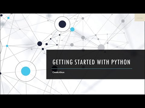 Introduction to Python Programming || Python Tutorial for Beginners || #1 || GeekAthon thumbnail