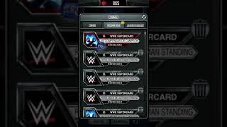 WWE SuperCard Recompensa de TBG #2 (WM34)